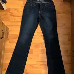 Old Navy Curvy Barely Boot Jeans Size 6 Long